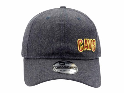 Cleveland Cavaliers NBA Stated Heather Dark Blue 9TWENTY Cap