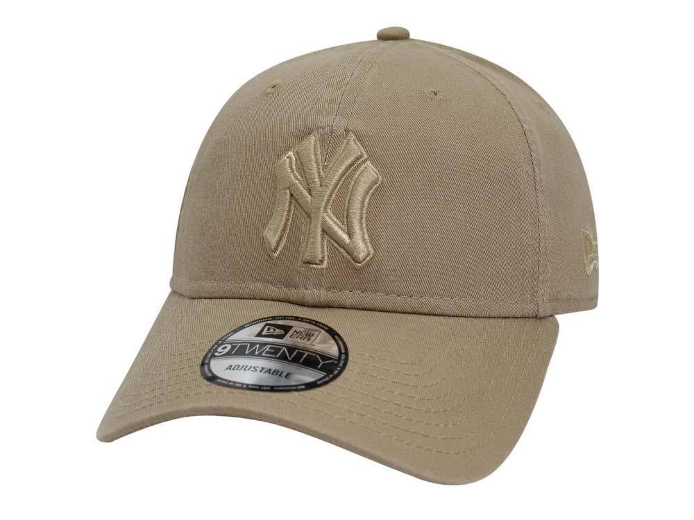 New York Yankees MLB Core Class Khaki 9TWENTY Cap  1f928490a06