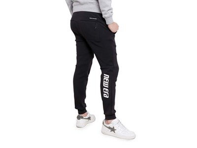 New Era Tech Heather Black Crew Pants