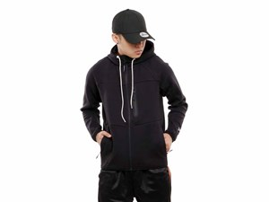 New Era Full Zip Tech Black Hoodie