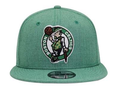... Boston Celtics NBA Heather Crisp Green 9FIFTY Cap 806795a08a2