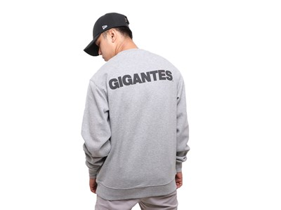 San Francisco Giants MLB Super Big Fan Gray Crew Neck Sweatshirt