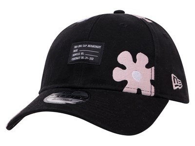e11b677d56b New Era Military Flower Black 9FORTY D-Frame Cap ...