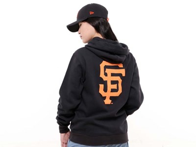 San Francisco Giants MLB Super Big Fan Black Hoodie