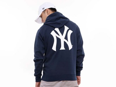 New York Yankees MLB Super Big Fan Navy Hoodie