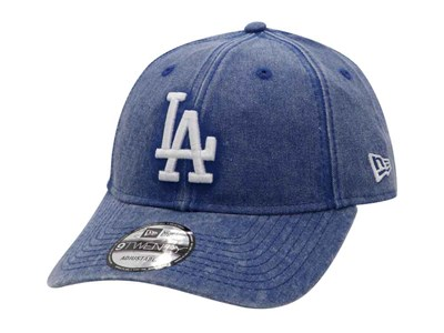 5cd66036fcb Los Angeles Dodgers MLB Rugged Wash Light Royal 9TWENTY Cap ...