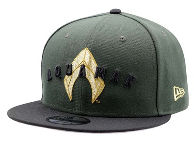Aquaman DC Dark Green Black 9FIFTY Cap (ONLINE EXCLUSIVE)