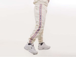 New Era World Wide 3 Off White Pants