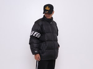 New Era Puffer Black Jacket