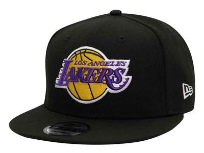 ace46da6 Los Angeles Lakers NBA Black 9FIFTY Cap ...