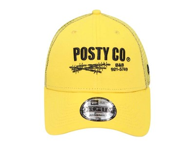 Posty Co. Post Malone Trucker Yellow 9FORTY Cap (ONLINE EXCLUSIVE)