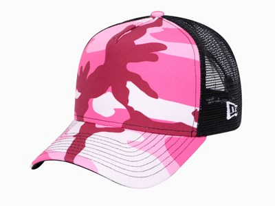 New Era Color Camouflage 81 Pink A-Frame 9Forty Cap