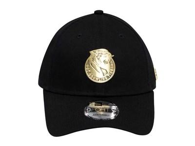 79e27d5ec86 ... University of Santo Tomas Growling Tigers UAAP Gold Badge Black 9FORTY  Cap. New