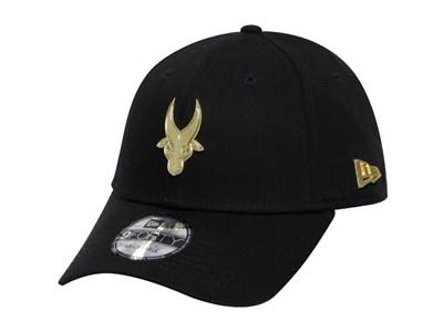 Far Eastern University Tamaraws UAAP Gold Badge Black 9FORTY Cap ... bdf8bfda3e26