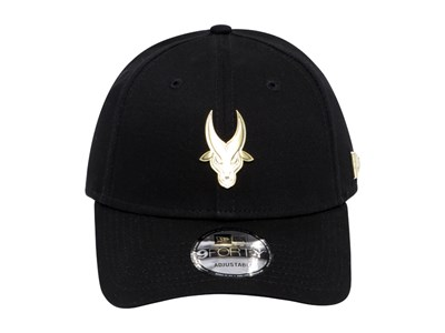 7ece5998475 ... Far Eastern University Tamaraws UAAP Gold Badge Black 9FORTY Cap