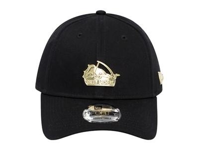 buy popular 01b10 b6356 ... De La Salle Green Archers UAAP Gold Badge Black 9FORTY Cap