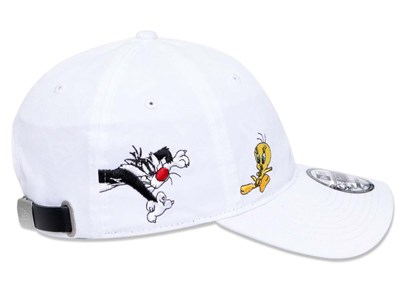 Tweety Sylvester Looney Tunes White 9FORTY Cap