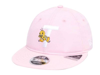 Tweety Looney Tunes Pink 9FIFTY Retro Crown Cap