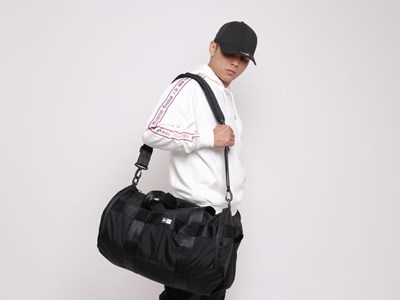 New Era Black Duffle Bag