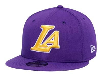 c55b93d354b79 Los Angeles Lakerrs NBA On Court Back Half 2019 Purple 9FIFTY Cap ...
