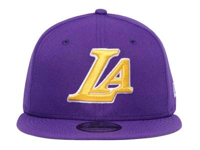 7310670978b8b ... Los Angeles Lakerrs NBA On Court Back Half 2019 Purple 9FIFTY Cap