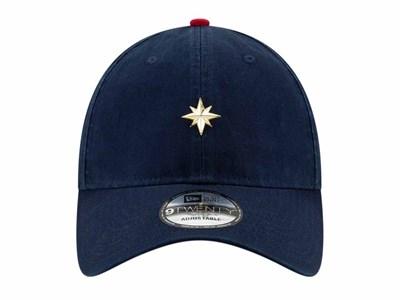 ... Captain Marvel Mini Badge Dark Blue 9TWENTY Cap. New 31872318cc3c