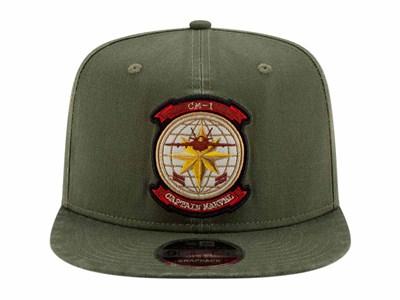 c0f8c83e2d8 ... Captain Marvel CM1 Pilot Olive 9FIFTY Cap