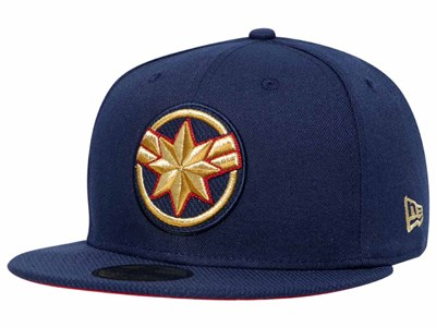 Captain Marvel Icon Dark Blue 59FIFTY Cap