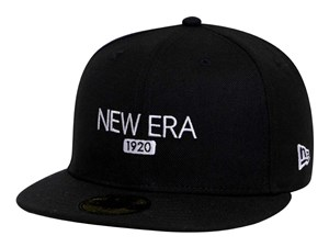 New Era 1920 Basic Fabric Black 59FIFTY Cap