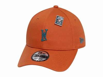 W Logo Wanderland Rust Orange 9FORTY Cap