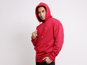 New Era Flag Mini Logo Red Essential Hoodie
