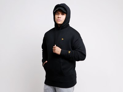 New Era Flag Mini Logo Black Essential Hoodie