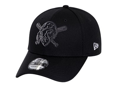 Pittsburgh Pirates MLB Clubhouse Black 39THIRTY Cap