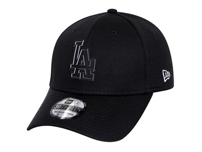 Los Angeles Dodgers MLB Clubhouse Black 39THIRTY Cap