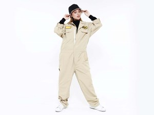 New Era Originators Beige Coverall (LAST STOCK)