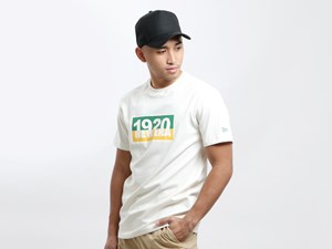 New Era 1920 Washed Cotton White Shirt