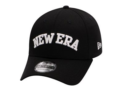 New Era Basic Logo Black 39THIRTY Cap