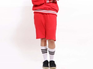 New Era Point Label Red Shorts