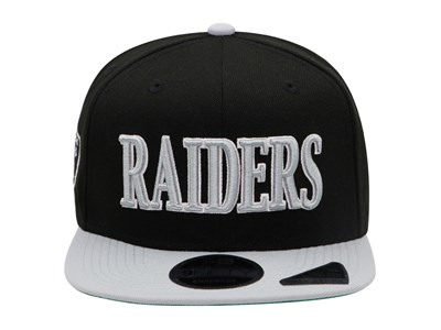 Oakland Raiders NFL Retro Classic Black Gray High Crown 9FIFTY Cap