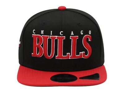 cheap for discount 9068f c50ea ... Chicago Bulls NBA Retro Classic Black High Crown 9FIFTY Cap