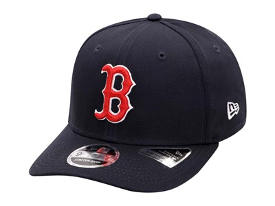 36baef3d349 Boston Red Sox MLB Team Stretch Snap Navy 9Fifty Cap ...