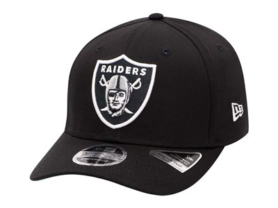 c20b91fda2a Oakland Raiders NFL Team Stretch Snap Black 9Fifty Cap Oakland Raiders NFL  Team Stretch Snap Black 9Fifty Cap. New