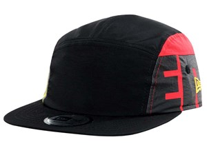 New Era Side Colored Red Yellow Black Jet Cap