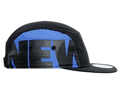 New Era Side Colored Blue Green Black Jet Cap