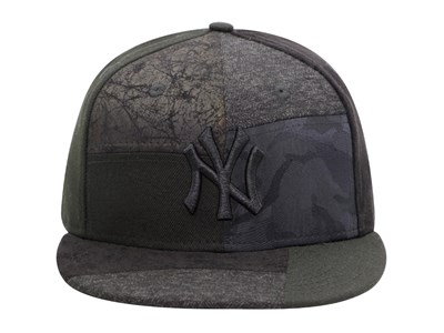 6513faef ... New York Yankees MLB Premium Patched Black 9FIFTY Cap