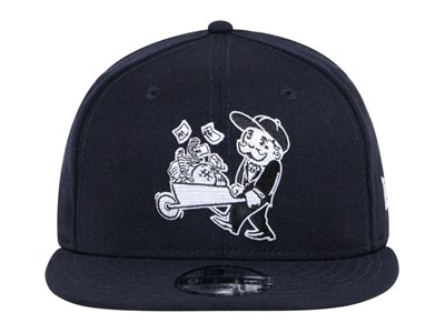 New Era Monopoly Entertainment Wheel Barrow Navy 9FIFTY Cap (ONLINE EXCLUSIVE)