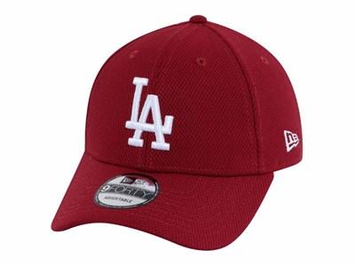 b94fe03b6a122 Los Angeles Dodgers MLB Diamond Era Cardinal 9FORTY Cap ...