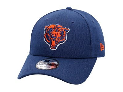 promo code 407a5 72130 Chicago Bears NFL Logo Snap Blue 9FORTY Cap ...