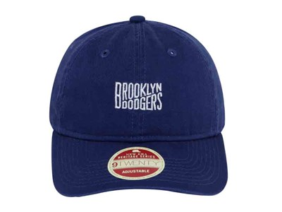 Brooklyn Dodgers MLB Classic Team Front Dark Blue 9TWENTY Cap