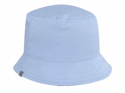 e27e39ab7a325 ... New Era Gingham Reversible Checkered Blue Sky Blue Bucket Cap